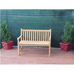 Zahradní lavice SOLO, 2-místná, TEAK