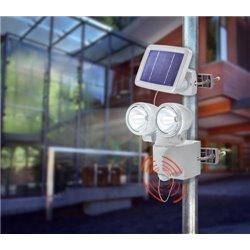 Solární nástěnné svítidlo - PIR DUO POWER