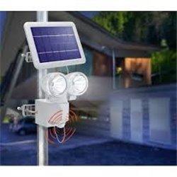 Solární nástěnné svítidlo - DUO POWER II
