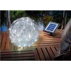 Solární osvětlení Alu Wireball, 10000 K