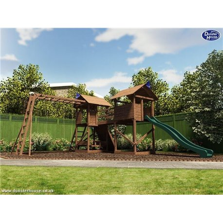 Dětské hřiště MegaFort (7,1 x 4,92m)