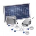 Solární světelný řetěz 48 LED, bílý