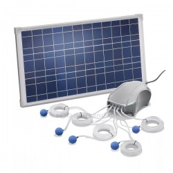 Solární bodové svítidlo Quattro Power, esotec