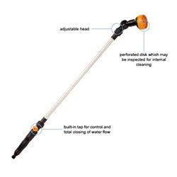 Zalévací tyč - 8 typů postřikování