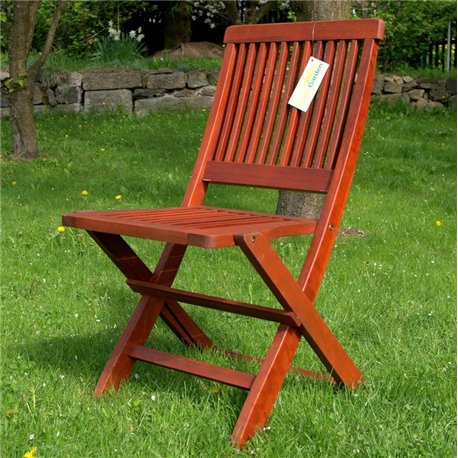 Rozkládací dřevěná židle SUNNY