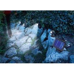 Solární bodové svítidlo Trio s PIR čidlem, esotec