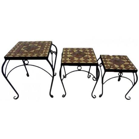 Servírovací stolek dřevěný