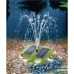 Plovoucí solární vodotrysk Leknín, esotec