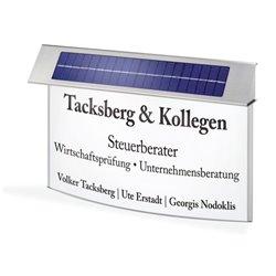 Solární informační tabule