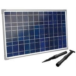 Solární krystalický panel 25W, esotec
