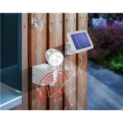 Solární nástěnné svítidlo s detektorem pohybu - POWER LIGHT