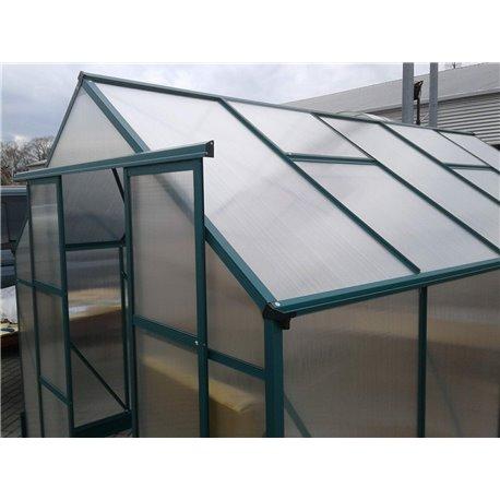 Stavba skleníku