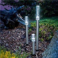 Solární světla Trio Sticks - studená bílá , esotec