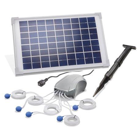 Solární provzdušňovač Power five, esotec