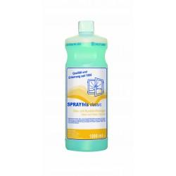 SPRAYfris classic prostředek k čištění skla a plastů, 1l