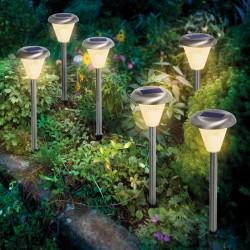 """Zahradní solární osvětlení """"IMOLA""""- set 6 kusů, esotec"""