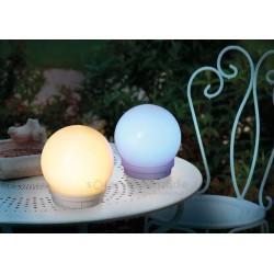 Solární svítící koule 15 cm, multicolor 2 ks, esotec