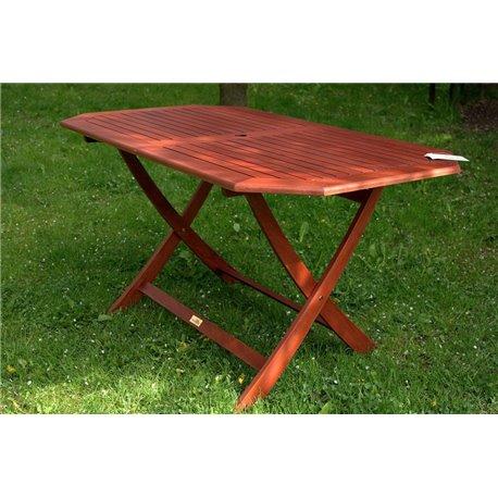 Zahradní stůl RIVIERA 140x80 cm