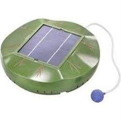 Plovoucí solární provzdušňovač pro jezírka, esotec